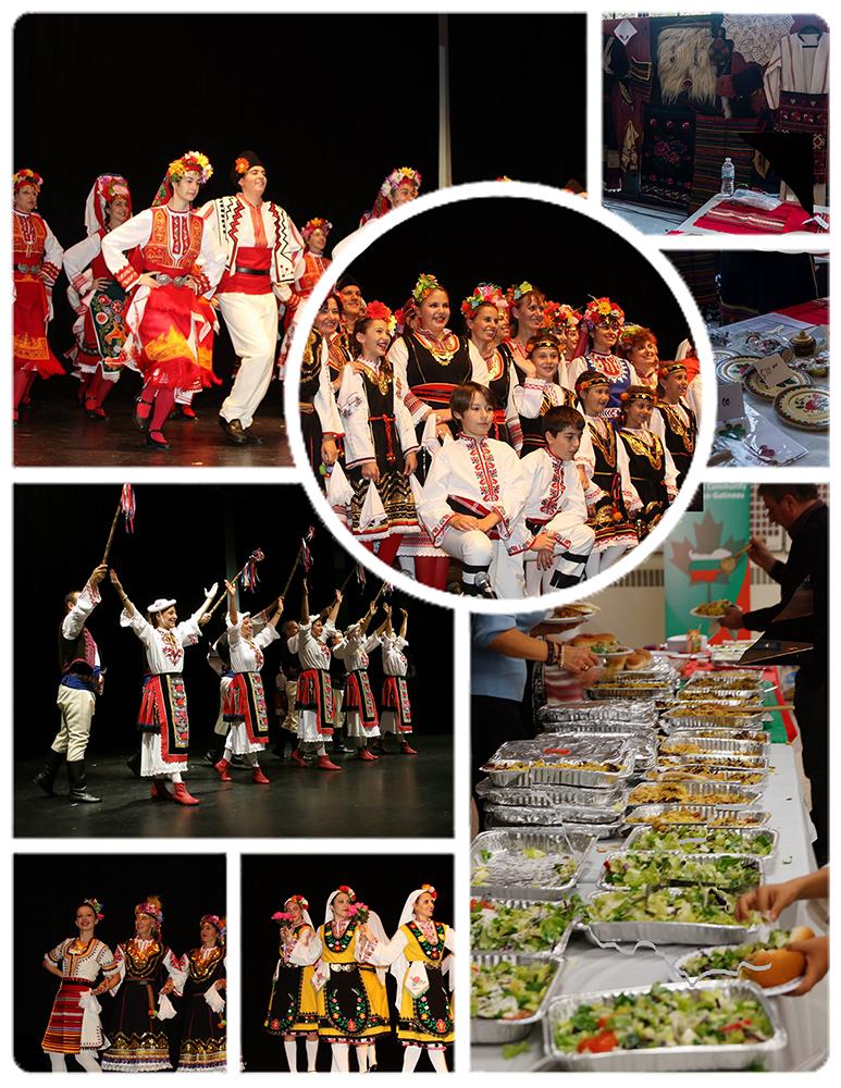 Bulgarian Cultural Days 2016; collage by Galia Nikolaeva